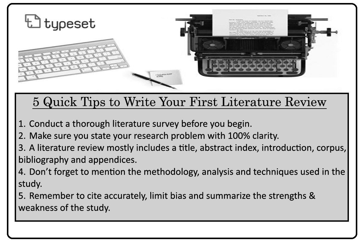 5 tips on how to write a literature review for scientific or academic paper or research paper