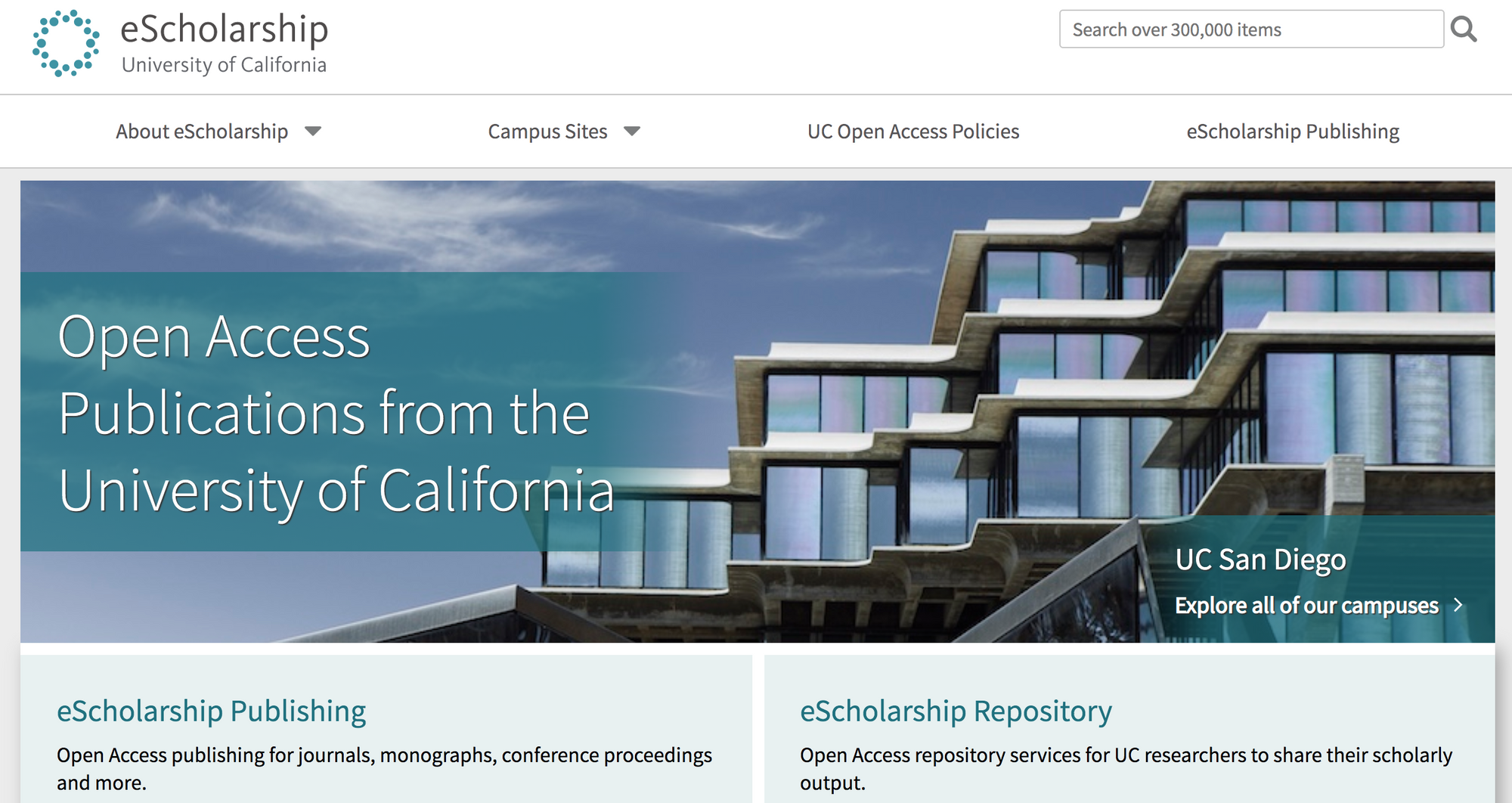 University of California eScholarship Repository
