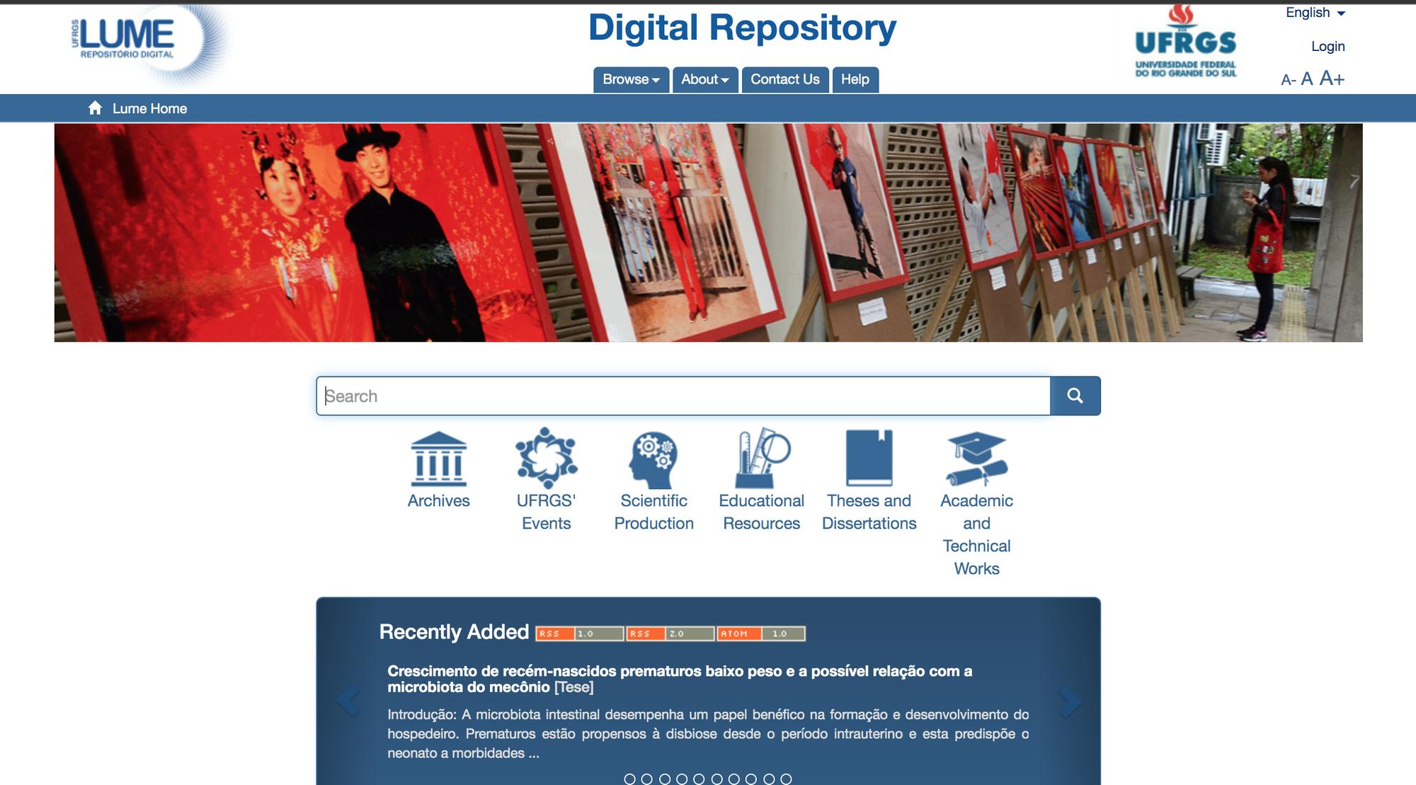 Repositório Digital Universidade Federal do Rio Grande do Sul LUME - Institutional Repository