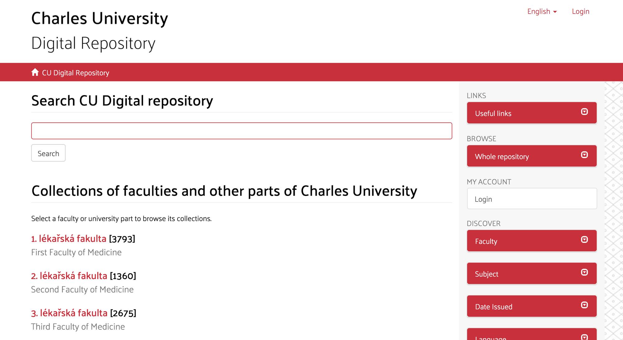 Charles University Digital Repository